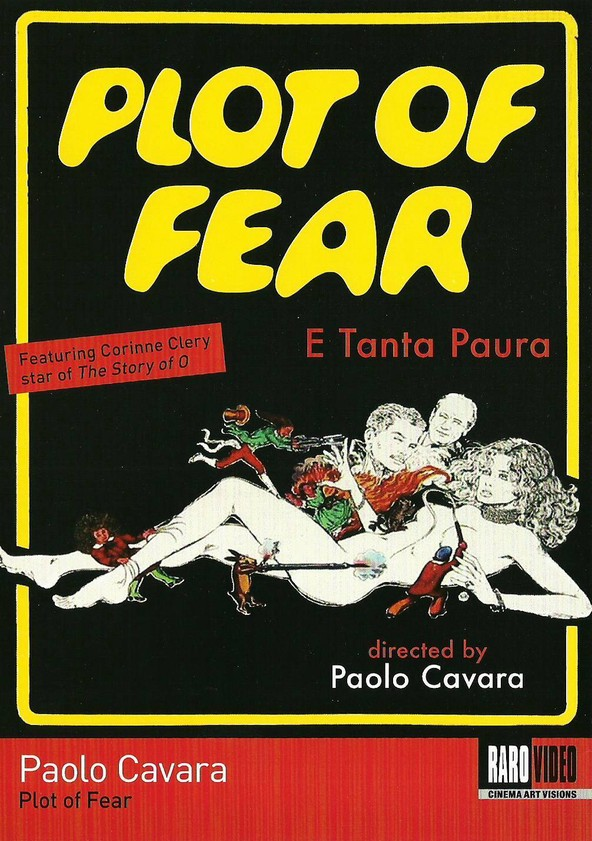 Plot of Fear poster