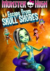 Monster High - Menekülés koponya-szigetről