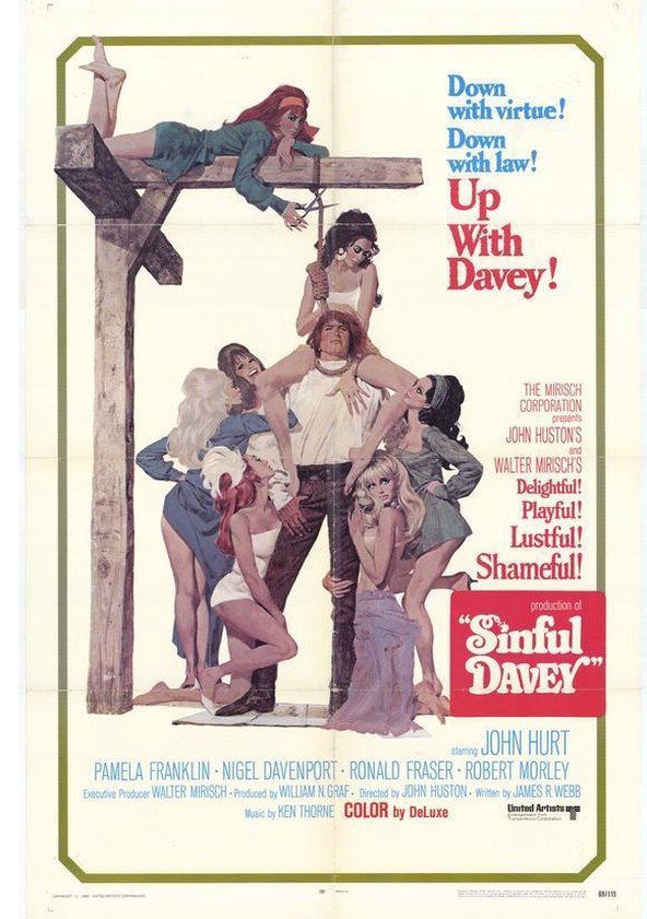 Sinful Davey poster