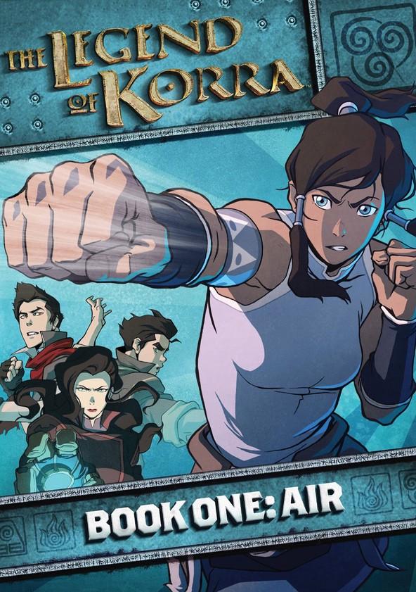 Die Legende von Korra Buch 1: Luft poster