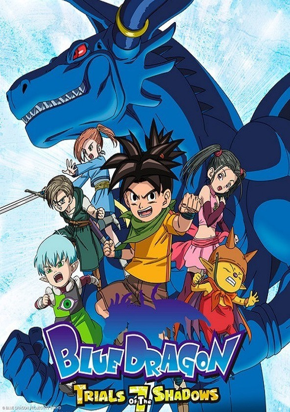 Blue Dragon Stream