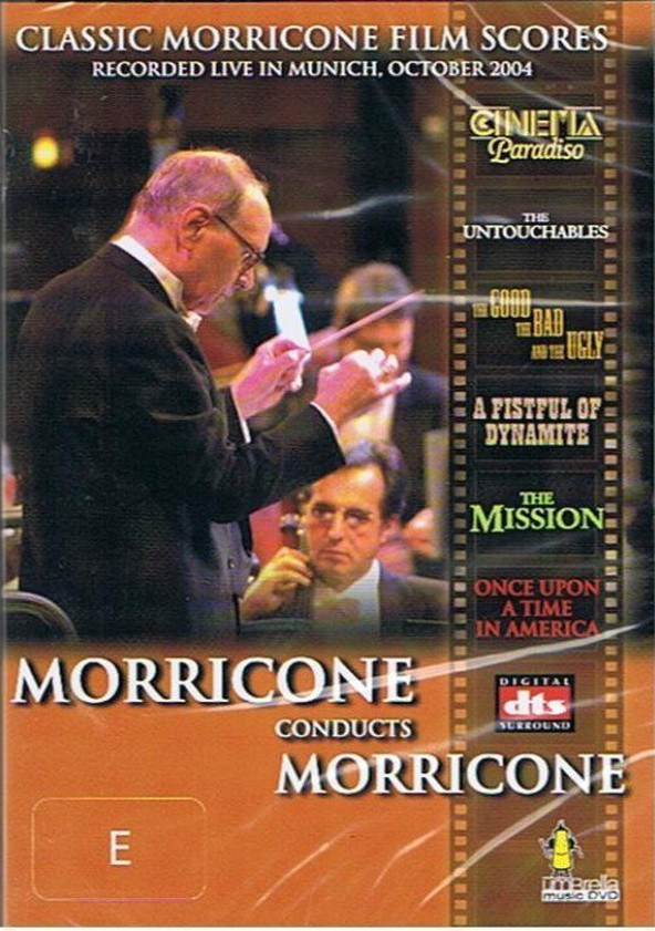 Morricone Conducts Morricone poster