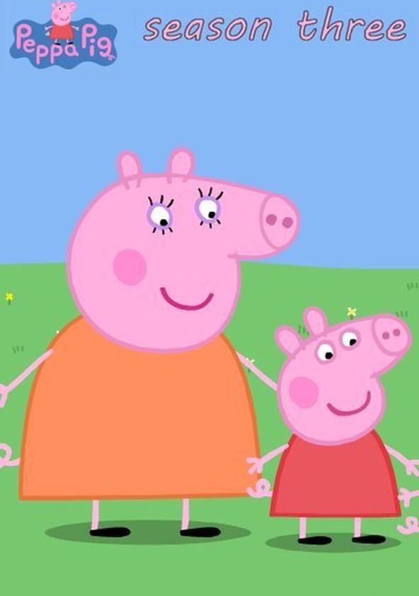 Peppa Pig Season 3 poster