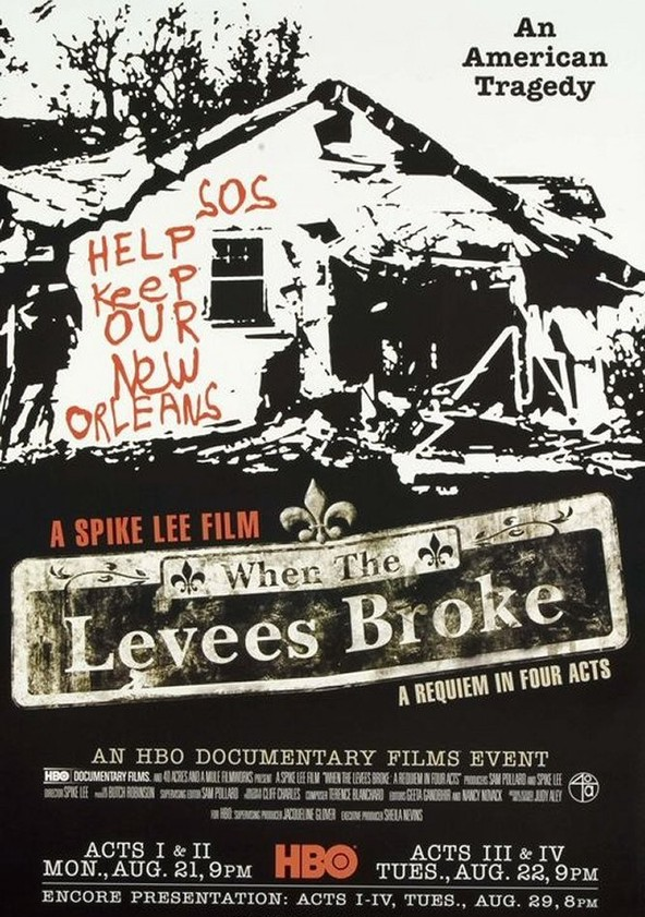 when the levees broke Watch when the levees broke and other documentary films.