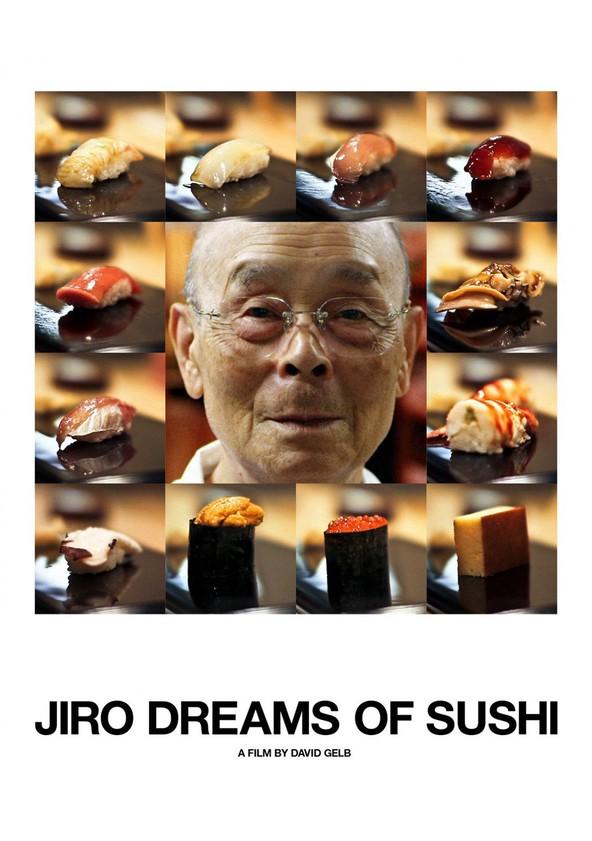Jiro sueños de sushi poster