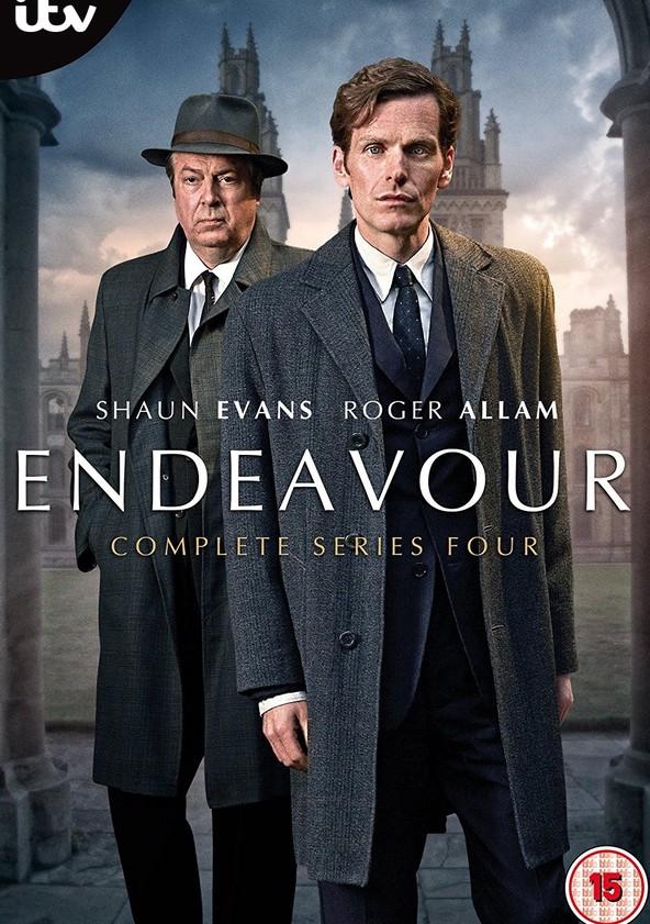 Endeavour Season 4 poster