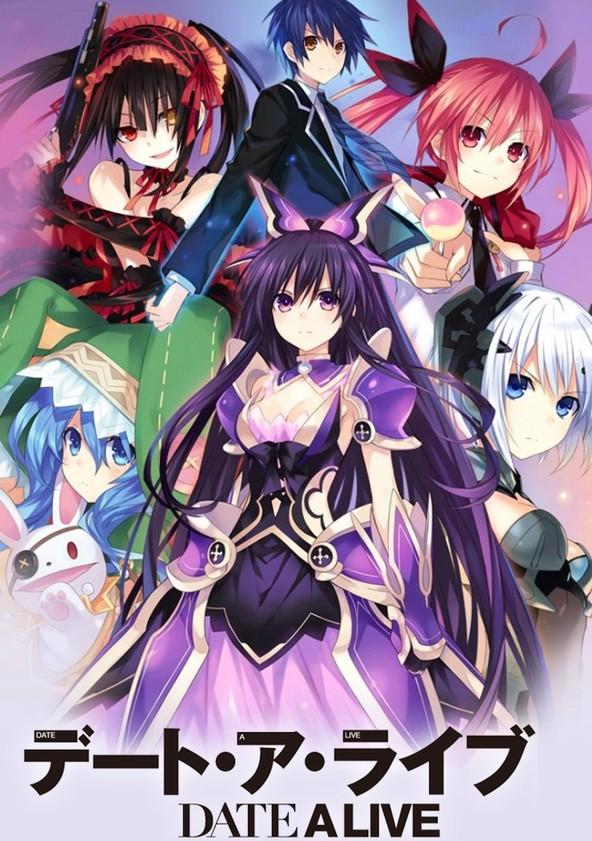 デート・ア・ライブ Season 1 poster