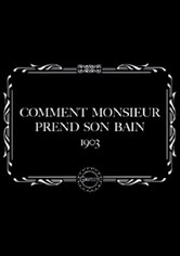 How Monsieur Takes His Bath