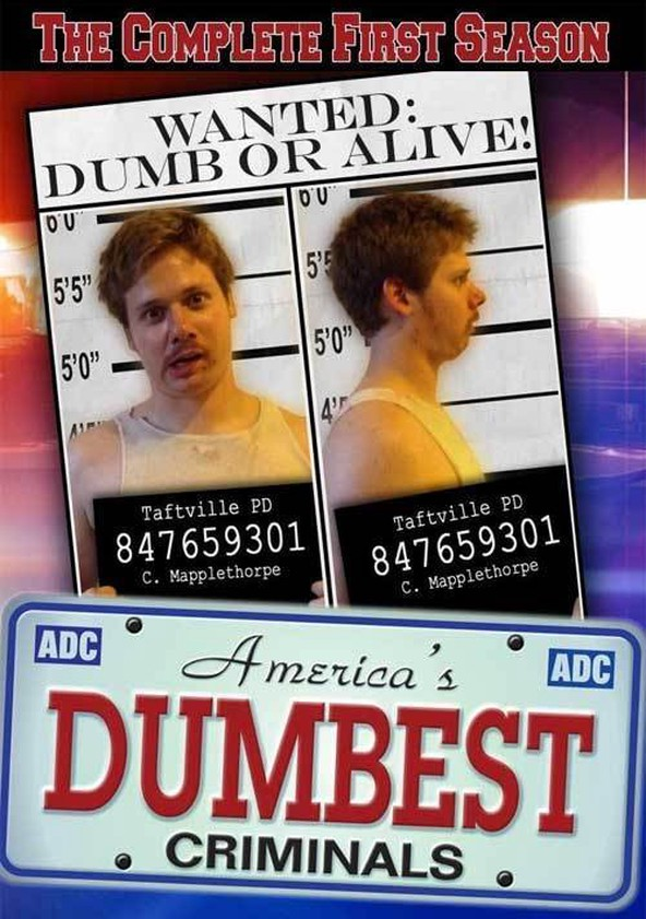 America's Dumbest Criminals Season 1 poster