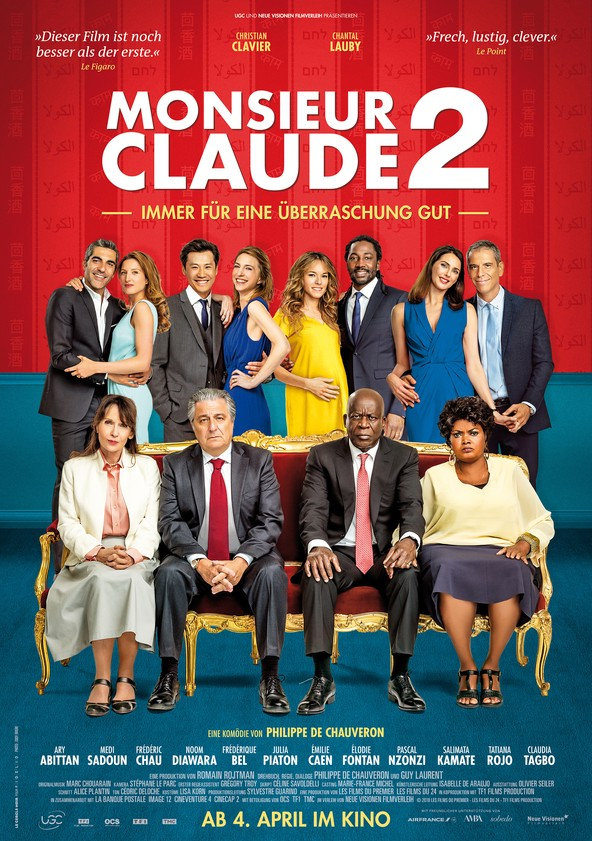 Monsieur Claude 2 poster
