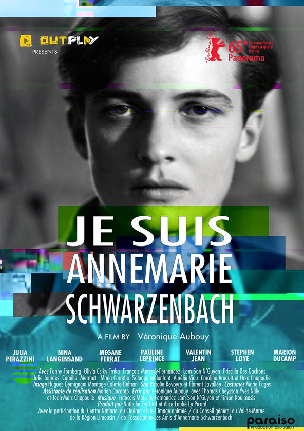 My Name Is Annemarie Schwarzenbach poster