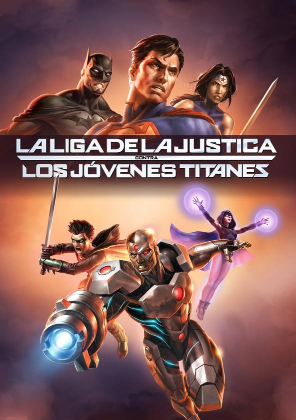 Liga de la Justicia contra los Jóvenes Titanes