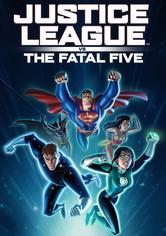 La Liga de la Justicia vs Los Cinco Fatales