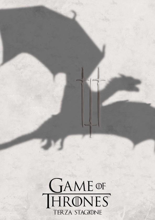 Il Trono di Spade Stagione 3 poster