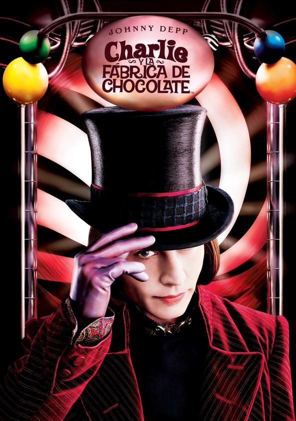 Charlie y la fábrica de chocolate poster