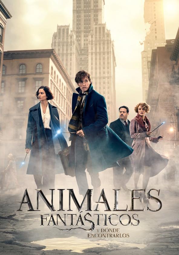 Animales fantásticos y dónde encontrarlos poster