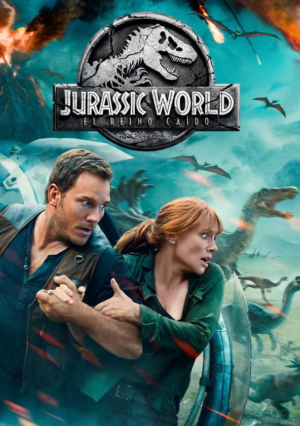 Jurassic World: El reino caído poster
