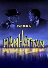 Zwei Männer in Manhattan