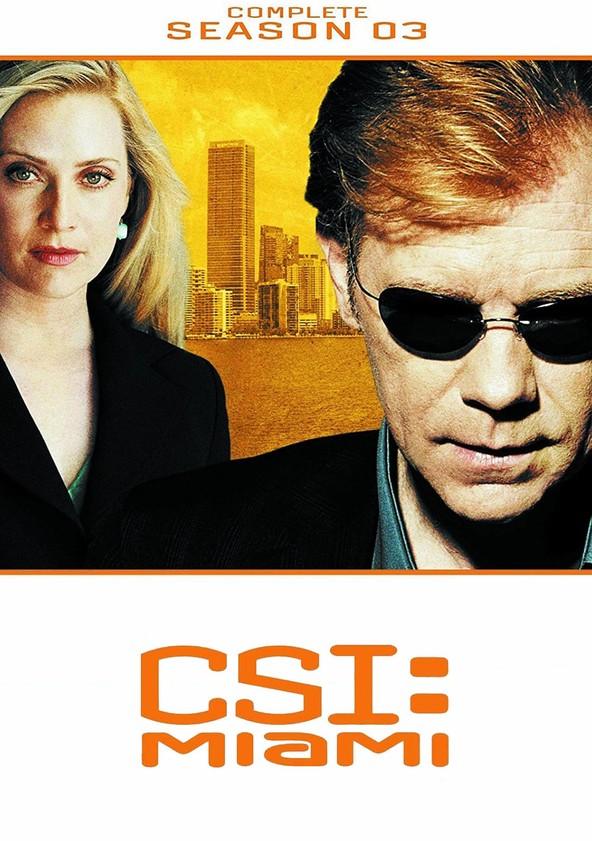 CSI: Miami 3.ª Temporada poster