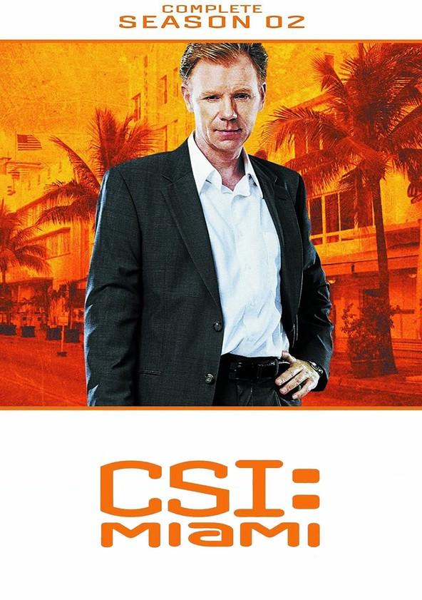 CSI: Miami 2.ª Temporada poster