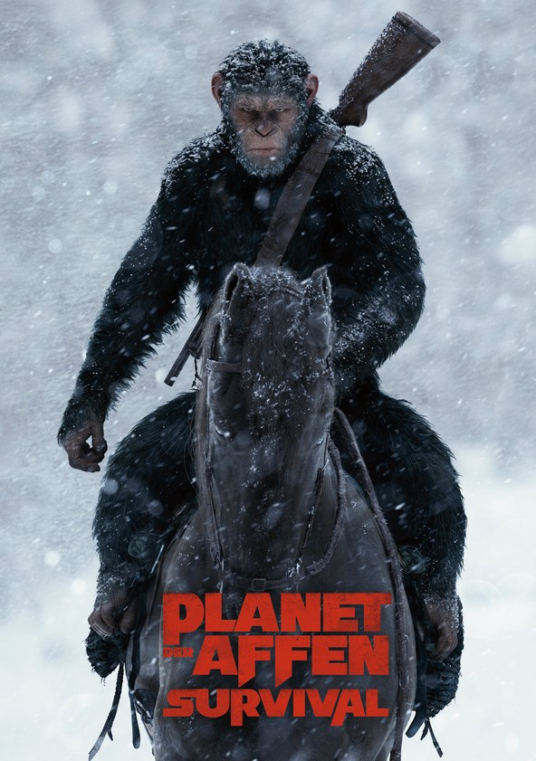 Planet der Affen - Survival poster