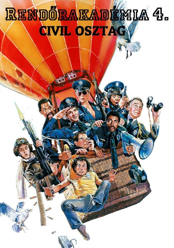 Rendőrakadémia 4. - Zseniális amatőrök az utcán