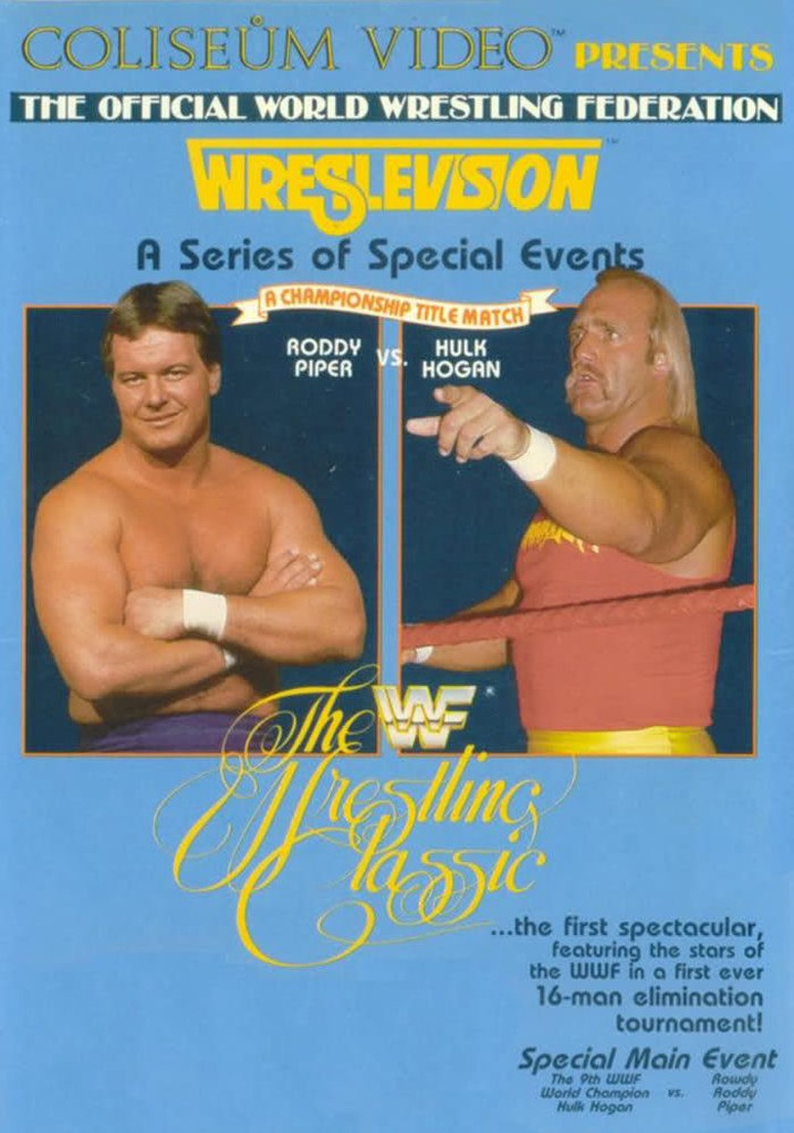 WWE WrestleVision: The Wrestling Classic