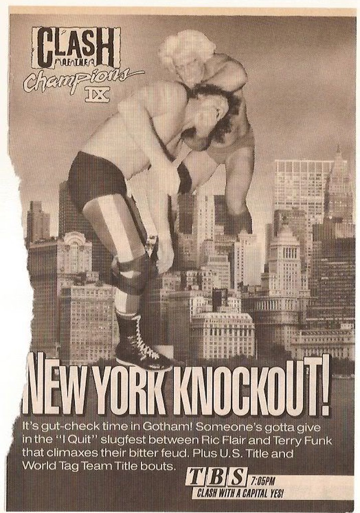 WCW Clash of The Champions IX: New York Knockout