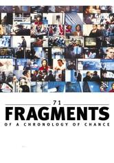 71 frammenti di una cronologia del caso