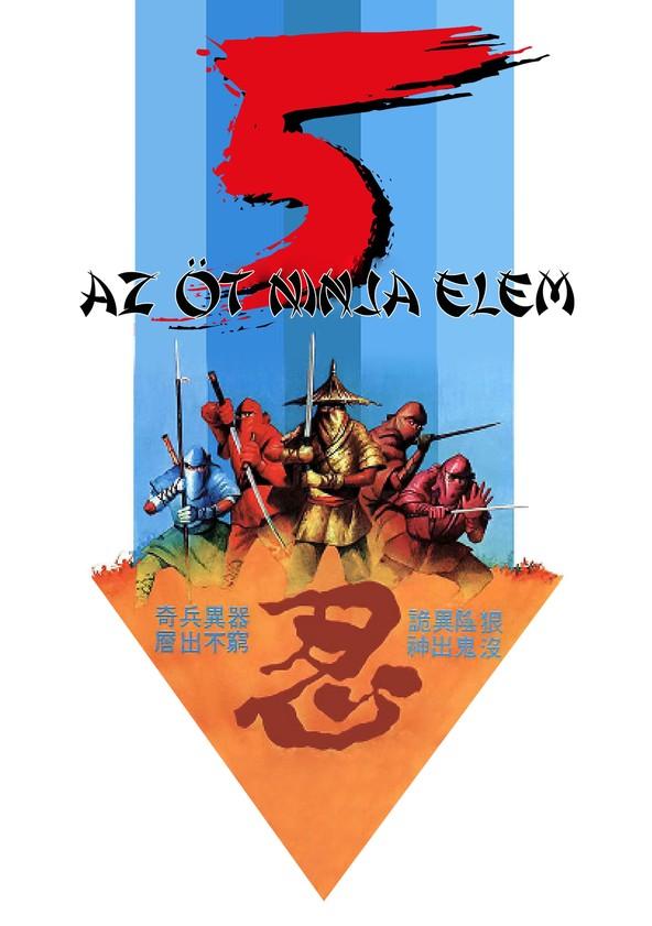 Az 5 ninja elem