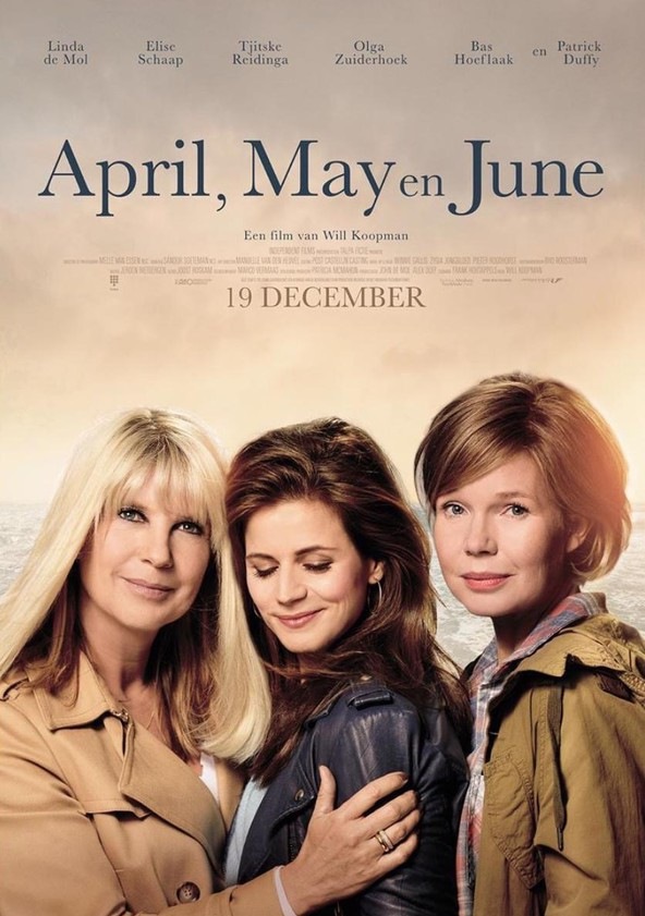 April, May and June