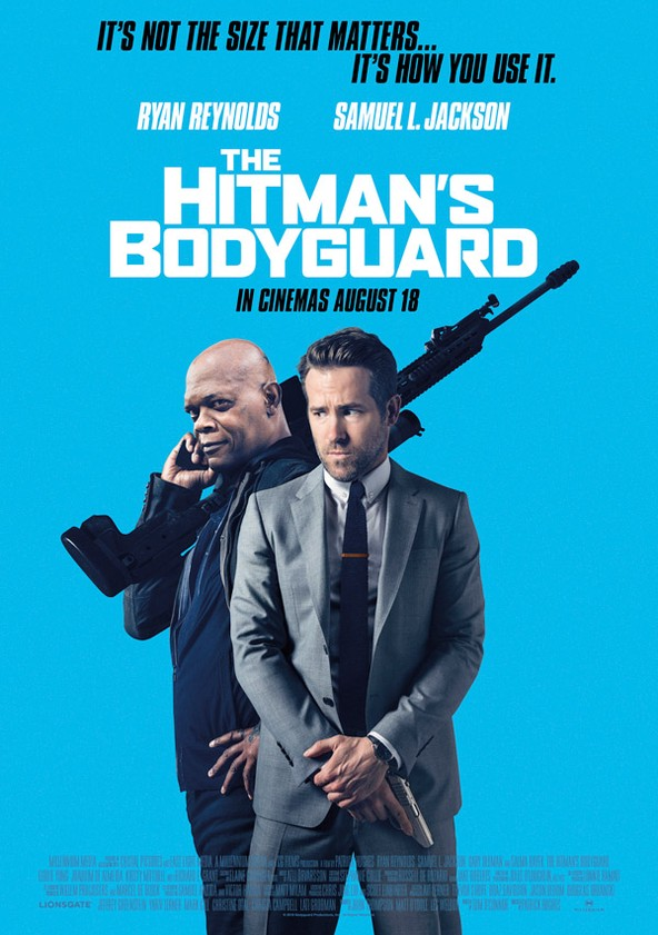 The Hitman's Bodyguard poster
