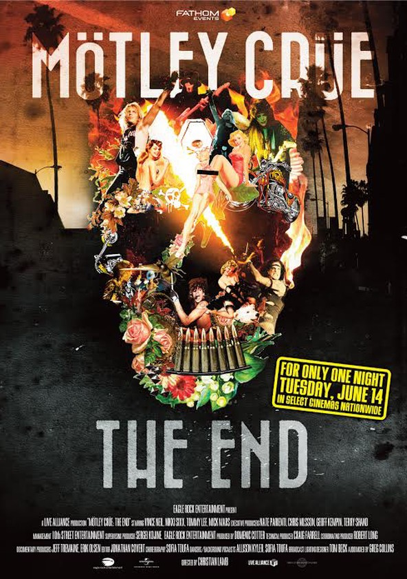 Mötley Crüe : The End