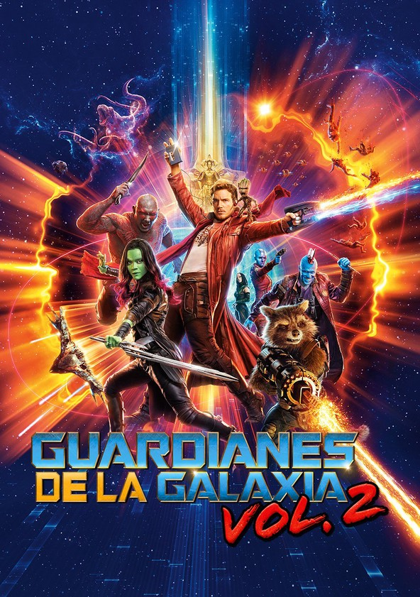 Guardianes de la galaxia Vol. 2 poster