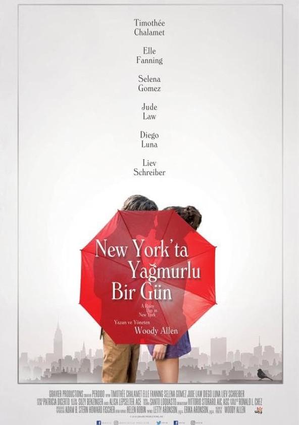 New York'ta Yağmurlu Bir Gün