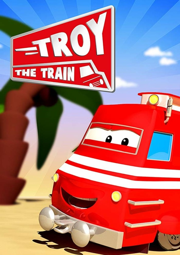 Troy the Train of Car City