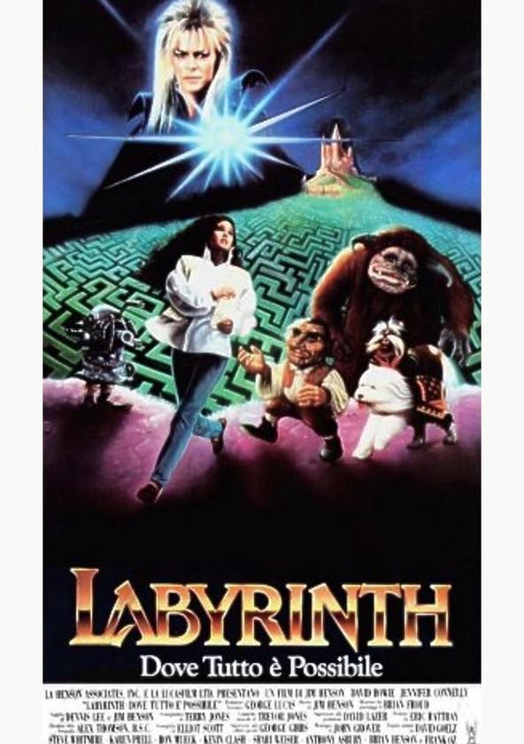 Labyrinth - Dove tutto è possibile poster