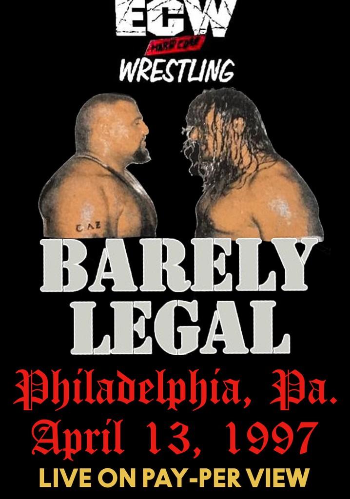 ECW Barely Legal 1997