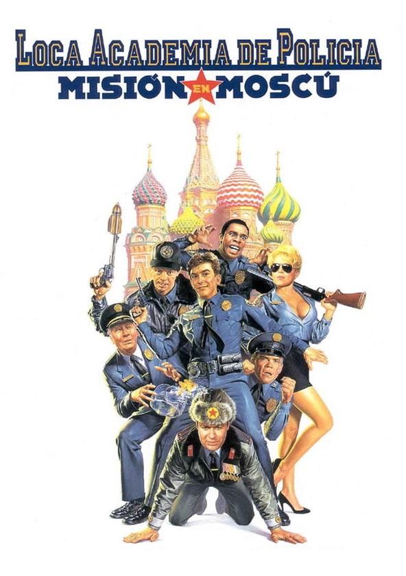 Loca academia de policía: Misión en Moscú