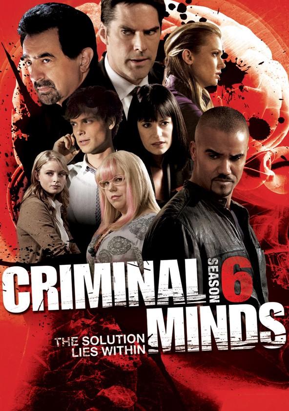 Criminal Minds Staffel 6 poster