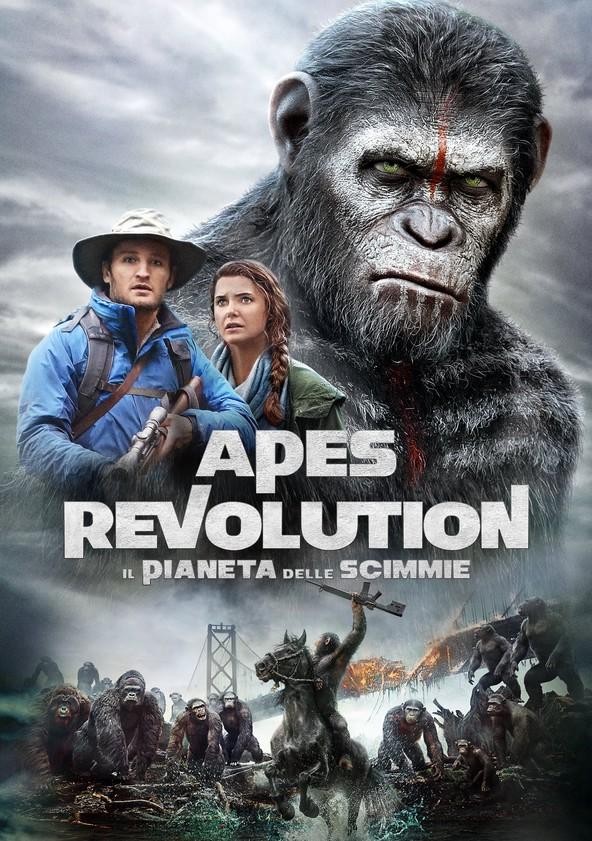 Apes Revolution - Il pianeta delle scimmie poster