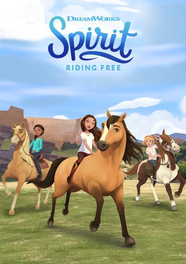Spirit: Riding Free poster