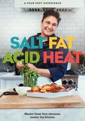 Sal, grasa, ácido, calor