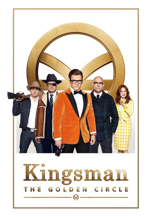 Kingsman: Kultainen kehä poster