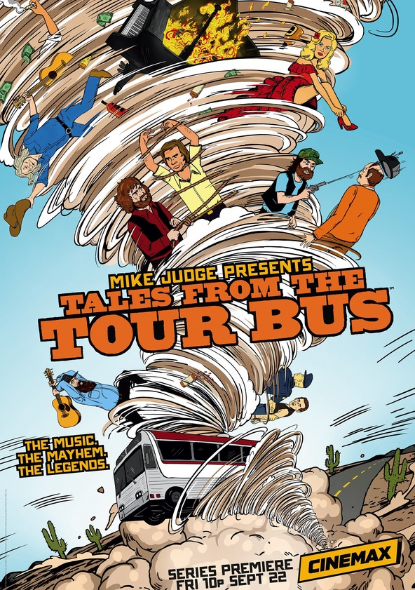 Mike Judge Presents: Tales From the Tour Bus Season 2 poster