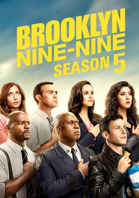 Brooklyn Nine-Nine Season 5 poster