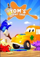 El taller de pintura de Tom