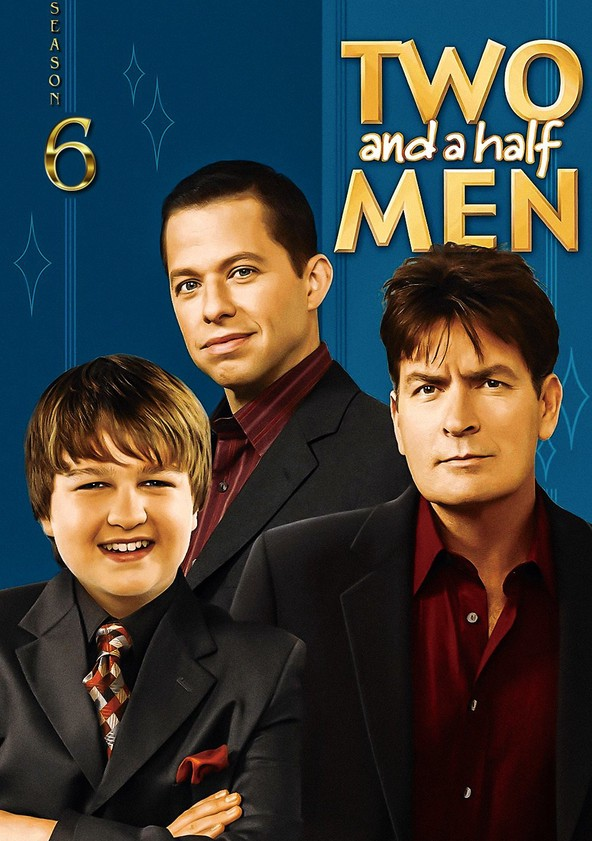Two and a Half Men Season 6 poster