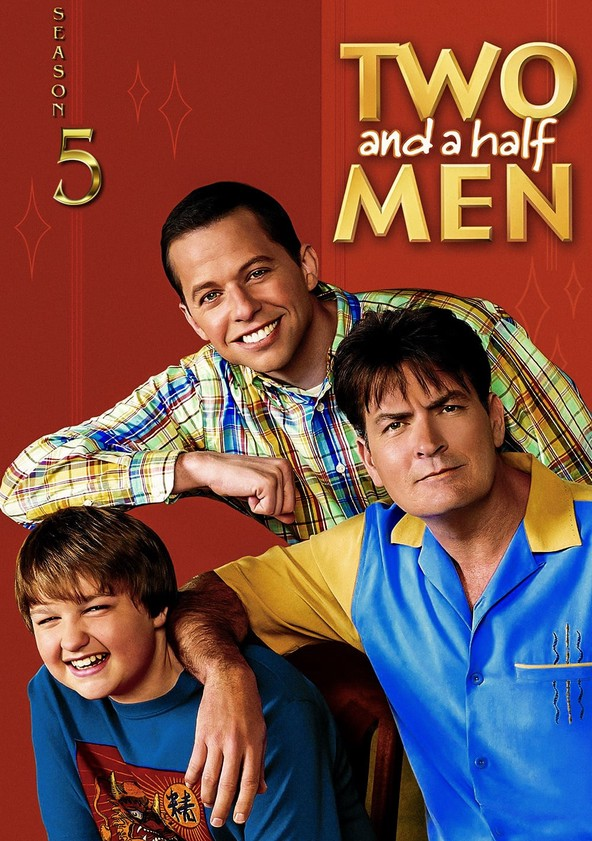 Two and a Half Men Season 5 poster