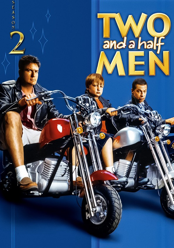 Two and a Half Men Season 2 poster